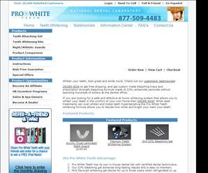 prowhiteteeth.com